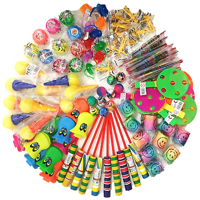 100 Mixed Childrens Party Bag Fillers Boys Girls Toy Gift Prizes Favour Loot