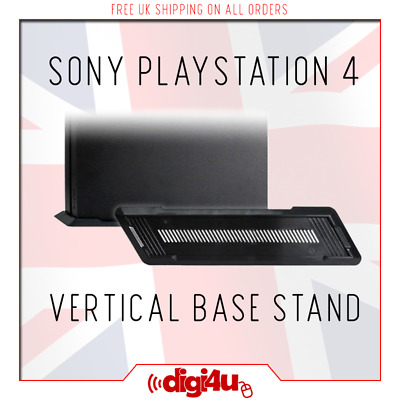 PS4 Vented Strong Vertical Base Mount Stand Dock Holder for Sony Playstation 4