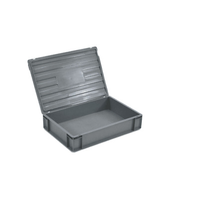 Euro Container with Lid -  Euro Stacking Container - Various Sizes and Colours
