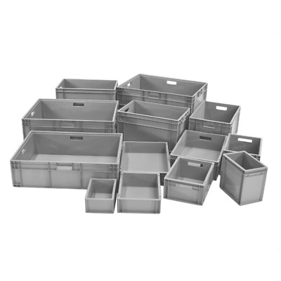 Euro Stacking Plastic Container / Boxes / Crates  - Various Sizes and Colours