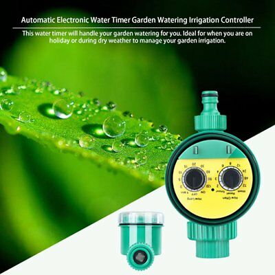 New Automatic Electronic Water Timer Garden Watering Irrigation Controller ♚⚡