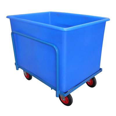 Heavy Duty Container Truck Bin - Food Grade Tank and Steel Mobile Frame