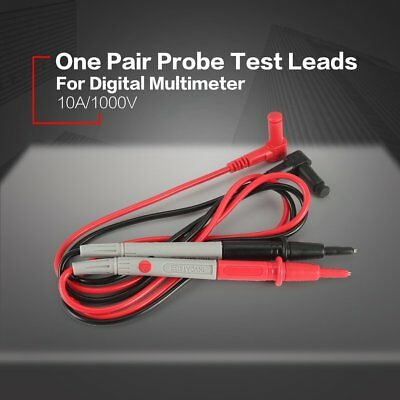 Universal Probe Test Leads Pin Digital Multimeter Needle Tip Tester 10A/1000V  A