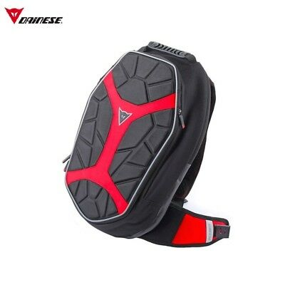 Dainese D-Exchange Backpack L Red Motorcycle Back Pack for Ducati Riders