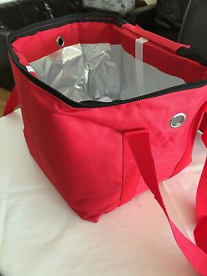 Hot Food Takeaway Restaurant Delivery Bag Thermal Insulated W30cm x H27cm x D27c