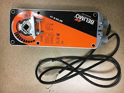 Belimo NF24-S US Spring Return On/Off Damper Control Actuator 24 VAC/DC