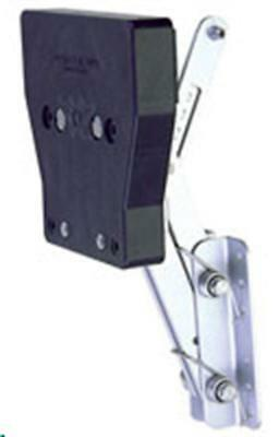 Garelick 71057:01 Auxiliary Outboard Motor Bracket-Hp Rating 7-1/2 To 20 15419