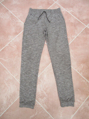 Next - Girls Grey Mix Jersey Jogging Bottoms - size 12 yrs