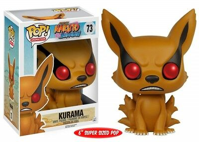 "Funko - POP Anime: Naruto - Kurama 6"" Vinyl Action Figure New In Box"