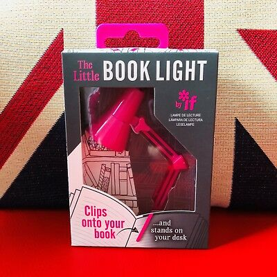 The Little Book Light - Pink. LED Reading Light. Clips onto your book ..*New*