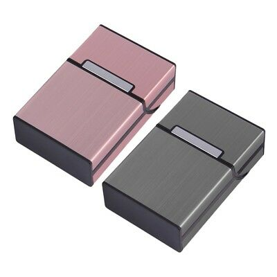 Light Aluminum Cigarette Cigar Case Pocket Box Container  Storage Holder New S5F