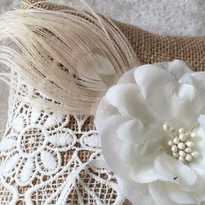 Flower Decorative Ring Pillow YMJZ-004 20*20cm Lace Finger Ring Cushion ♚⚡