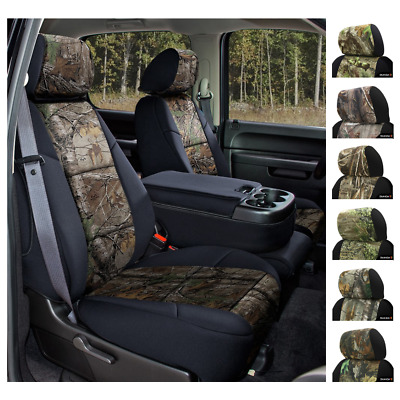 REALTREE CAMO CUSTOM FIT SEAT COVERS - COVERKING for NISSAN FRONTIER