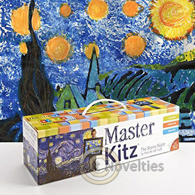 Master Kitz - Starry Night by Vincent van Gough