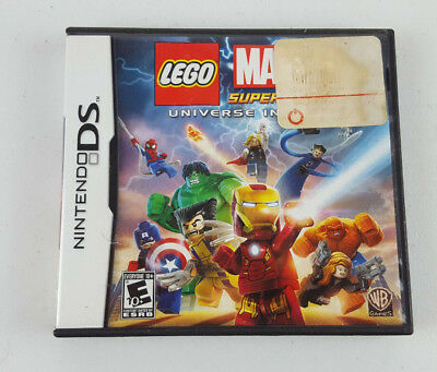 Nintendo DS LEGO Marvel Super Heroes Universe in Peril Complete Video Game