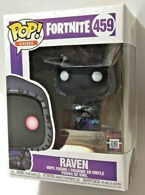 FUNKO Pop Games FORTNITE S2 RAVEN #459 4in Vinyl Figure IN STOCK