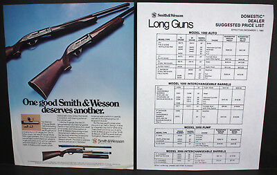 Smith Wesson Model 1000 Shotgun Wood Stock Forend 3995