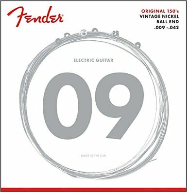 Fender 150L Pure Nickel Ball End 9-42, Electric Guitar Strings