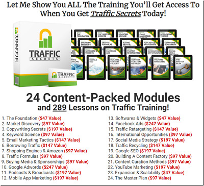 Russell Brunson – Traffic Secrets  - New Course