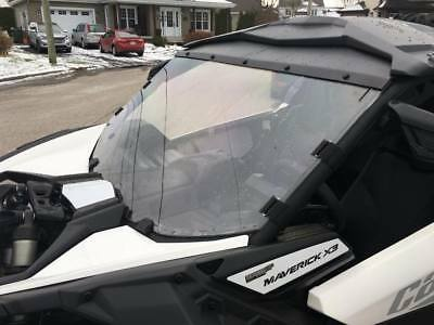 Can-Am Maverick X3 HARD COAT ABRASION RESISTANT Full Windshield Pare Prise Plein