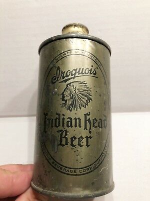 Lattina birra Irlandese Iroquois Indian Head Beer anni 40