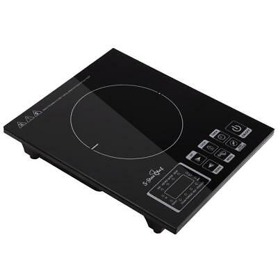 Single Electric Induction Portable Cooktop Ceramic Hot Plate Kitchen Cooker
