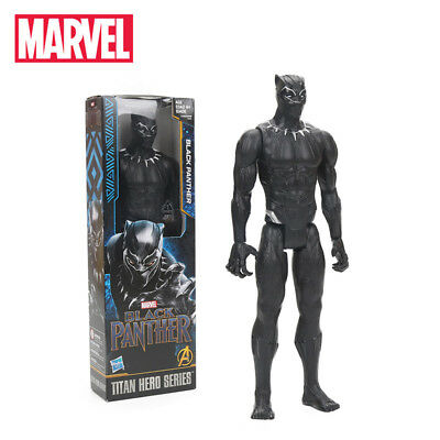 Black Panther Action Figure Marvel 30 cm - Avengers  Supereroi