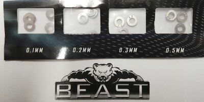 Beast: Metal Shims M4A1 Scar Ump Mp5 Ak47 Acr Vector M4Ss 4 Gear Gel Gun Blaster