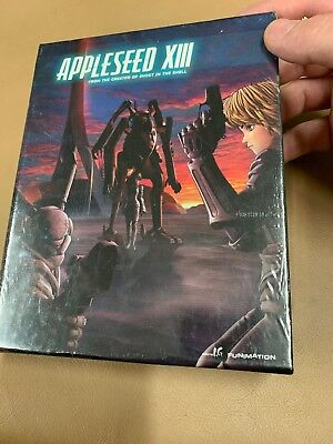 Appleseed Xiii: Complete Series Blu-ray+DVD Limited Edition 5-disc New, Sealed