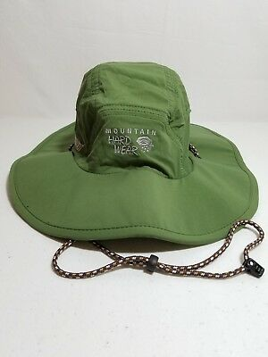 Mountain Hardwear Philmont Mens Green Wide Brim Sun Hat 17ed3ec1364