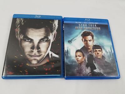 Lot of 2 Star Trek Into Darkness Special Edition Blu Ray 5 Disc DVD Set Movie