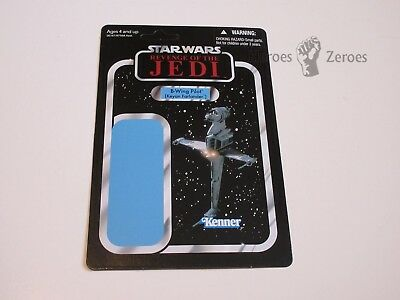 Star Wars Revenge of the Jedi Vintage Collection B-WING PILOT SDCC Proof Card