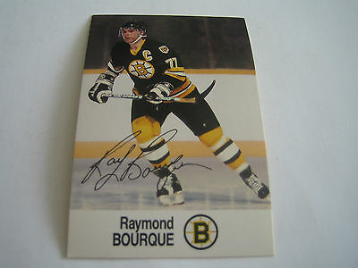 1988/89 Esso NHL All-Star Collection Ray Bourque Card