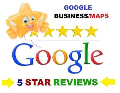 Add 20x 5 STAR Google Customer Reviews for your BUSINESS/MAPS, SEO/LOCAL IP'S