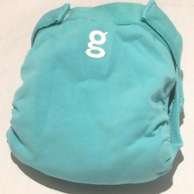 New Gdiapers Small Glacier Blue Gpants  & Pouch