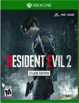 RESIDENT EVIL 2 remake Deluxe EditionXBOX ONE---NO ES CODIGO- NO CD- ES CUENTA