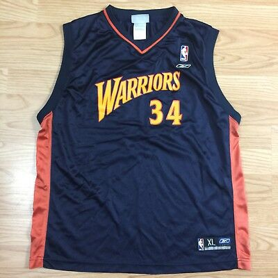 Golden State Warriors Mike Dunleavy  34 Reebok Blue Jersey Youth XL 18-20 9527021a6