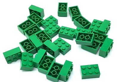 LEGO LOT OF 50 NEW SAND GREEN 3 X 1 SLOPE 33 SLOPED PIECES PARTS
