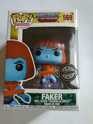 Figurine Funko POP! Television Masters of the Universe 569 FAKER Exclusive