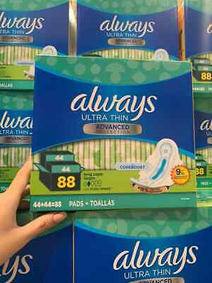 Always Maxi Pads Overnight Extra Heavy Flow 20 Count