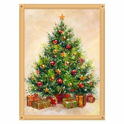 5D Diamond Painting Full Drill Xmas Tree Embroidery Cross Stitch Arts Craft ♚⚡