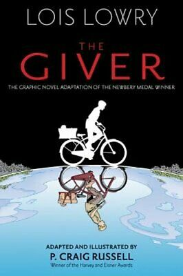 The Giver (Graphic Novel) by Lois Lowry: New