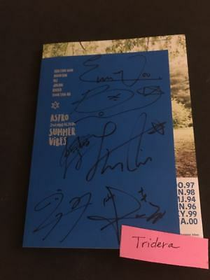 Astro Summer Vibes 2nd Mini Album Signed Autographed All Member KPOP Authentic