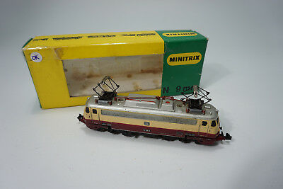Minitrix 2937 - Spur N - Elektro Lok Modell Br112 309-0 in Box - Analog