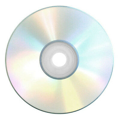 10 Pack Blank CD-R Standard Compact Discs In Sleeves