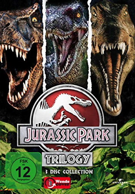 Jurassic Park-Trilogy-3 Disc Collection - (German Import) Dvd New