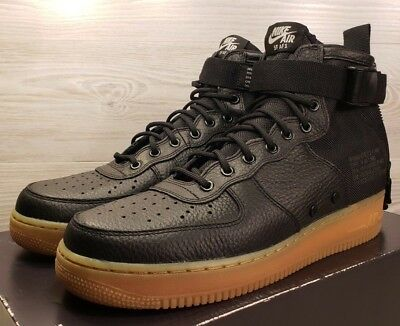 official photos 870e8 5caa0 NIKE SF AF1 Mid Special Field Air Force One Black Fashion 917753-003 Pick  Size