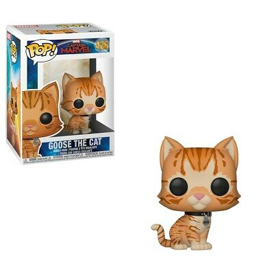 FUNKO: POP! Marvel: Captain Marvel (Goose the Cat) [POPS]