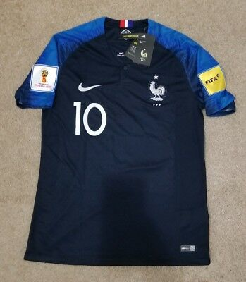 low priced 5edfb 6ee24 2018 WORLD CUP France Mbappe Soccer Jersey Size Medium *with real patches*
