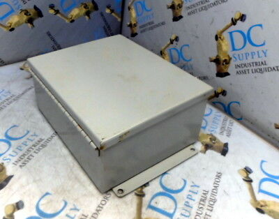"""Saginaw Control Electrical Enclosure SCE 10/""""X8/""""X4/"""" Stainless SCE-1008CHNFSS"""
